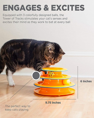 Petstages Cat Tracks Interactive Play