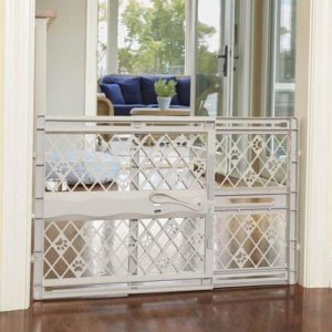 North States MyPet Paws 40 Portable Pet Gate 40