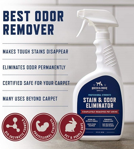 Rocco And Roxie Professional Strength Stain And Odor Eliminator