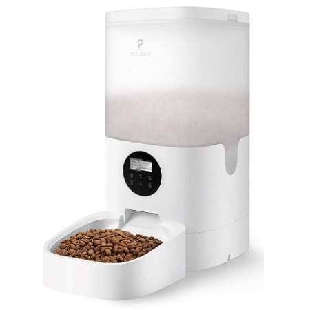 Petlibro Automatic Cat Feeder With Desiccant Bag For Dry Food